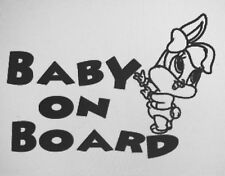 Baby LOLA BUNNY baby on board Decal Sticker for Car/Truck Laptop Window Custom