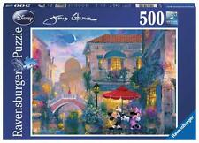 RAVENSBURGER DISNEY JIGSAW PUZZLE MICKEY AND MINNIE IN VENICE 500 PCS #14725