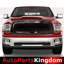 09-12 Dodge Ram 1500 Gloss Black Packaged Front Mesh Grille+Shell Replacement