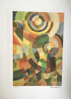 Sonia Delauney Lithographie Signée Et Numéroté