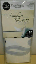 RoomMates Family Wall Decals Family is Love 12 Removable Wall Decals