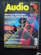 Audio 10/96, YAMAHA AX 1090, Harman HK 660,luxman a 384,alr 3 m, Dali 350,jbl LX 8