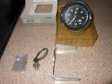 Vdo Mechanical Tachometer 128 503 3500 Rpm With Rev Counter 12 Volt Illumination