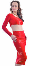 No Pattern Long Sleeve Clubwear Wiggle, Pencil Women's Dresses