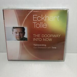 The Doorway Into Now by Eckhart Tolle cd audio book brand new and sealed