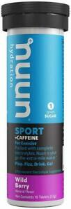 Nuun Energy by Nuun, 10 tablets Wild Berry 8 pack