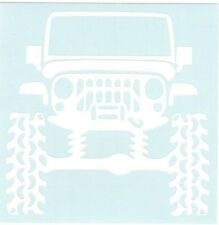 Lifted Jeep 4x4 Car Truck Suv vinyl sticker decal