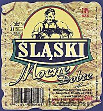 Poland Brewery Lwówek Śląski Mocne Beer Label Bieretikett Cerveza ls133.3