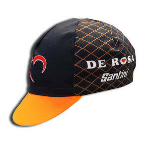 Retro De Rosa Santini 2018 Pro Cycling Team cap fast shipping