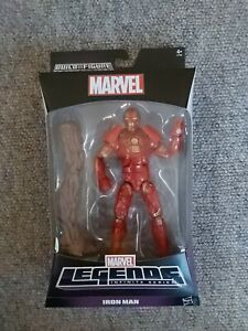 MARVEL LEGENDS IRON MAN ACTION FIGURE GROOT BUILD-A-FIGURE GOTG New in Box