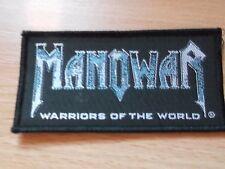 Vintage Manowar patch