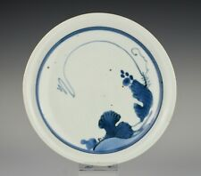 Very rare, early Japanese porcelain, Shoki Imari, dish with vines ~1640s