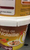 Lot revendeur destockage De 4 Boites De Fond De Volaille Dlc Longue