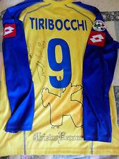 Maglia Chievo Verona Calcio Tiribocchi autografata Match Worn Serie A Italia