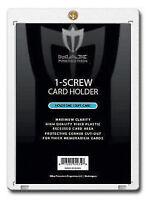 20 Max 1-Screw THICK 120pt Memorabilia / Jersey Trading Card Screwdowns holders