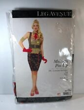 Camouflage Halloween costume Military Pin Up Dress 5 Pc Sz Small New