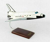 NASA US Space Shuttle Columbia Orbiter Desk Display Spacecraft 1/100 ES Model