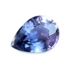 Certified Natural Unheated Purple Sapphire 0.84ct SI Clarity Madagascar Pear