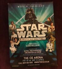 Star Wars A Musical Journey John Williams World Premiere The O2 Arena London