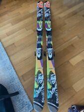 Rossignol Sprayer 168cm skis with Marker bindings - Artwork design by Howell