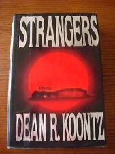 Dean Koontz - Strangers Putnam 1st edition 1986 HC w/DJ