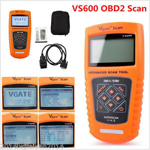 VS600 OBD2 II CAN BUS Car Code Scanner Reader Professional Diagnostic Scan Tool