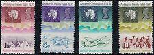 BritishAntarctica SC39-42 MapOfAntarctica-Penguins-SeaGulls-Seals MNH 1971