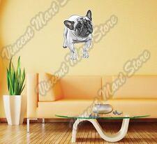 "Cute Fawn French Bulldog Dog Breed Pet Wall Sticker Room Interior Decor 18""X25"""