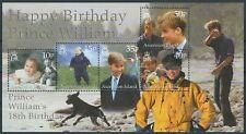 Ascension - 18. Geburtstag von Prinz William Block 41 postfrisch 2000 Mi 823-827