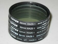 52mm Tiffen UV Haze 1 Filter   MINT!         #52m5st7