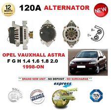 für Opel Astra F G-H 1.4 1.6 1.8 2.0 1998- > NEU 120A LICHTMASCHINE Einheit