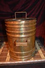 Vintage Copper Water Tank, Planter Vase w/ Handles
