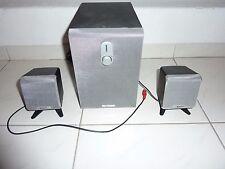 Typhoon Soundsystem 2 Boxen für PC mit Subwoofer