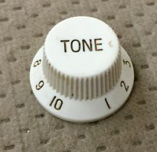 Fernandes Strat Style Electric Guitar Tone Switch Original White Knob