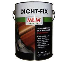 MEM Dicht Fix 4 Liter 500222 // Dichtungsmasse // sofort Wasserdicht // Grau