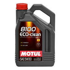 MOTUL 8100 ECO-CLEAN 5W30 SYNTHETIC ENGINE OIL 5 LITRES 5L