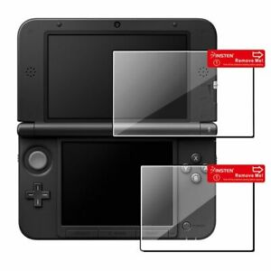 Clear Top+Bottom LCD Screen Protector Film Guard For Nintendo 3DS XL LL