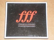 FRANCO FASANO - FORTISSIMO - BOX 2 CD COME NUOVO (MINT)