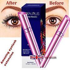 REAL PLUS 3D Fiber Mascara Amazing & Fabulous Eyelash Extension Set 100% Natural