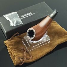 Small Mini Tobacco Pipe For Smoking With Pipe Stand&Pouch New Boxed