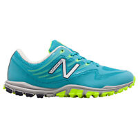 NEW Womens New Balance Minimus NBGW1006BL Golf Shoes Blue / Lime sz 6.5 M