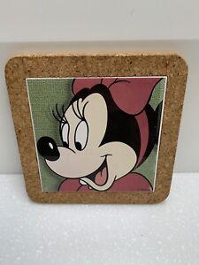 Disney Minnie Mouse Tile / Cork Trivet