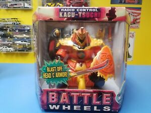 "JOHNNY LIGHTNING  BATTLE WHEELS RADIO CONTROL ""ORANGE"" KAGU-TSUCHI ""NEW"""