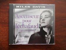 CD BOF   MILES DAVIS / ASCENSEUR POUR L'ECHAFAUD