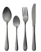 Bergner Munich 24 Piece Cutlery Set Gift Box 18/10 S/Steel In High Gloss Black