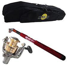 DynaSun FBAG +Carrete de Metal HF540I + Caña de Pescar FireFox 3607 3.50 mt