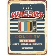 WA$$UP-[COLOR TV] 3rd Mini Album Hip-Hop GirlGroup WASSUP K-Pop Sealed Mafia ENT
