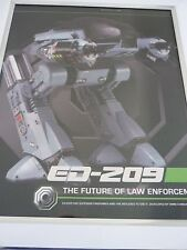 Robocop Ed-209 import figure box Framed The future of law enforcement #3
