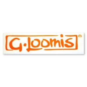 G. LOOMIS RADICAL STICKER - ORANGE