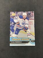 2016-17 UPPER DECK SERIES TWO DRAKE CAGGIULA ROOKIE YOUNG GUNS SILVER FOIL #455